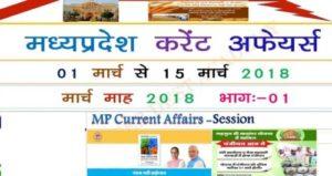 Madhya Pradesh current affairs 2018 in Hindi