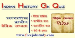 General Knowledge about History – GK in Hindi