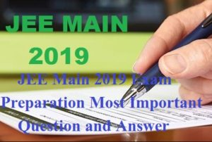 Most Important Questions For JEE Main 2019 Exam In Hindi