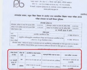 Exam Date MP Samvida Shala Varg 1 Download Admit Card 2019