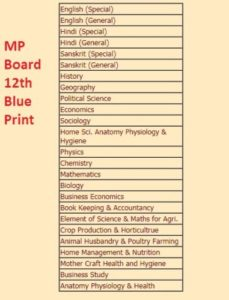 MP Board 12th Blueprint 2019 Hindi Medium | Guess Paper